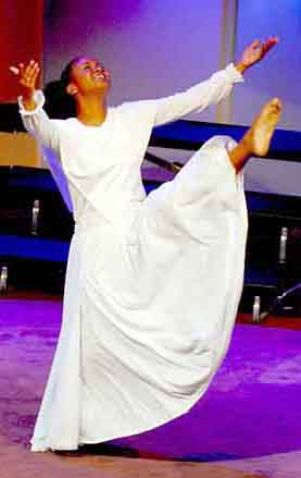 """Is """"praise dancing"""" during worship appropriate? 