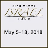 2018 VBVMI Israel Tour